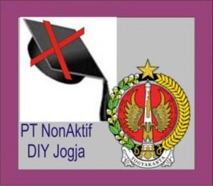 Daftar PT Non Aktif di DIY Jogja
