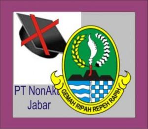 Daftar PT Non Aktif di Jabar