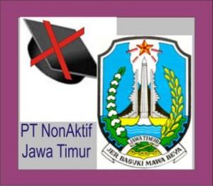 Daftar PT Non Aktif di Jatim