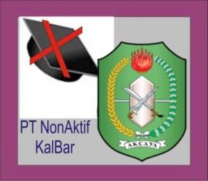 Daftar PT Non Aktif di Kalbar