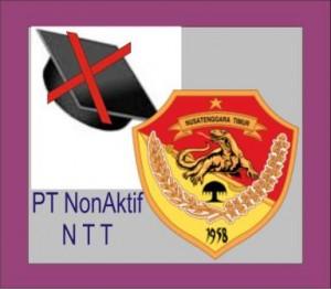 Daftar PT Non Aktif di NTT