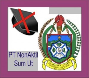 Daftar PT Non Aktif di SumUt