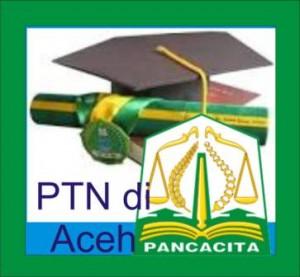 Daftar PTN di Aceh NAD