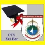 Daftar PTS di SulBar Sulawesi Barat