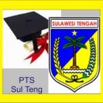 Daftar PTS di SulTeng Sulawesi Tengah